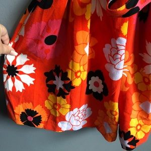 Victoria Beckham for Target Pants - VB for Target • Orange  floral Romper
